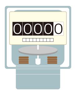 電気メーター イラストのイラスト素材 [FYI04562801]
