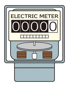 電気メーター イラストのイラスト素材 [FYI04562803]