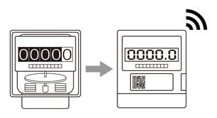 電気メーター スマートメーター 導入 イラストのイラスト素材 [FYI04562843]