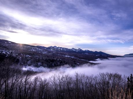 冬の八ヶ岳の写真素材 [FYI04563344]