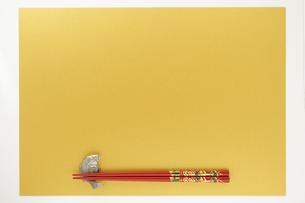 箸と箸置きの写真素材 [FYI04563454]