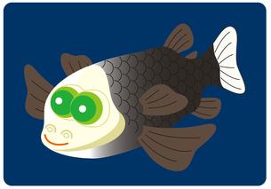 デメニギス 深海魚 キャラクター イラストのイラスト素材 [FYI04564225]