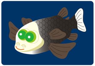 デメニギス 深海魚 キャラクター イラストのイラスト素材 [FYI04564226]