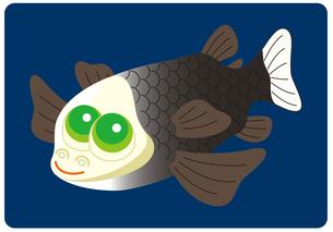 デメニギス 深海魚 キャラクター イラストのイラスト素材 [FYI04564229]