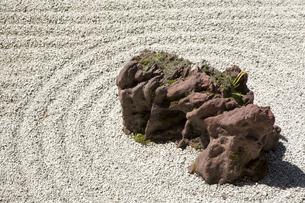 世界遺産高野山金剛峯寺の石庭の写真素材 [FYI04565162]