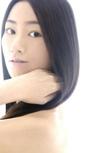 女性の髪イメージの写真素材 [FYI04565555]