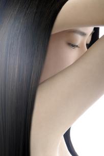 女性の髪イメージの写真素材 [FYI04565558]