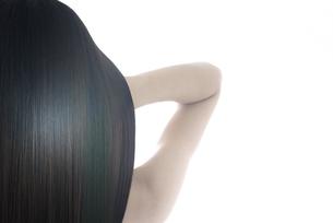 女性の髪イメージの写真素材 [FYI04565559]