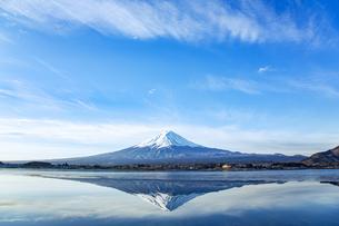 逆さ富士の写真素材 [FYI04567343]