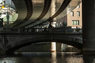 神田川からの東京風景の写真素材 [FYI04567752]