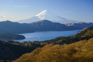 神奈川県 箱根大観山より富士山の写真素材 [FYI04568479]