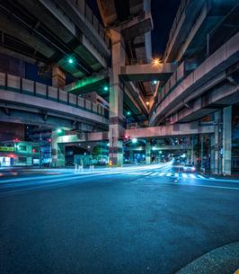 ジャンクション夜景 Junction Nightviewの写真素材 [FYI04568627]