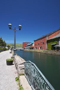 小樽運河の写真素材 [FYI04568861]