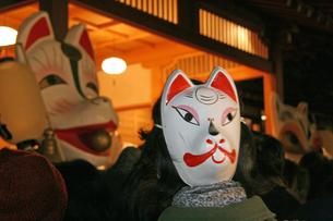 12月 王子狐の行列  -関東の祭り-の写真素材 [FYI04568907]