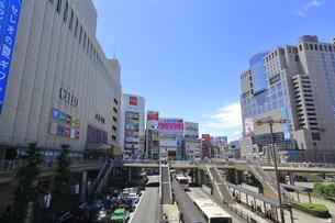 八王子駅北口の写真素材 [FYI04568951]
