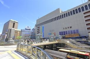 八王子駅北口の写真素材 [FYI04568956]