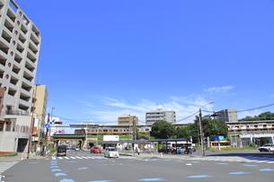 日野駅北交差点の写真素材 [FYI04568976]