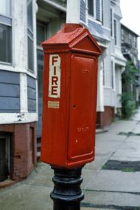 アメリカ合衆国 マサチューセッツ州 ボストンの街角の消火栓の写真素材 [FYI04569499]