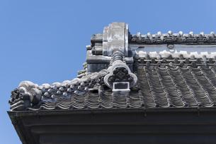 蔵の屋根 小江戸川越の写真素材 [FYI04569532]