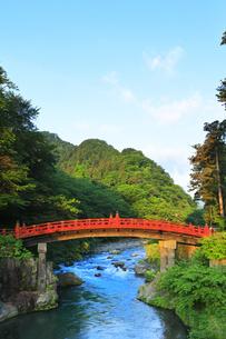 日光二荒山神社 神橋の写真素材 [FYI04570203]