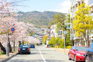関西の風景 芦屋市の街並みの写真素材 [FYI04571191]