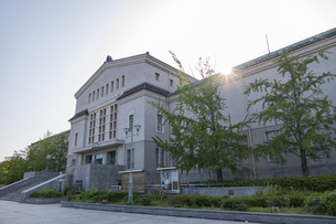 大阪市立美術館の写真素材 [FYI04571256]
