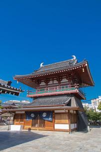 四天王寺北鐘堂の写真素材 [FYI04571270]