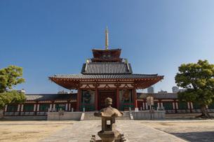 四天王寺仁王門の写真素材 [FYI04571275]