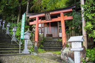 湯泉神社妙見堂の写真素材 [FYI04571279]