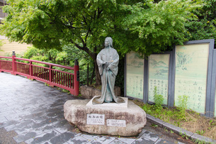 有馬温泉 ねねの像の写真素材 [FYI04571291]