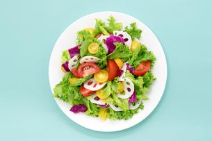 野菜サラダの写真素材 [FYI04572476]