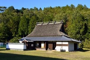 京都,日吉町郷土資料館,移築した古民家の写真素材 [FYI04572604]