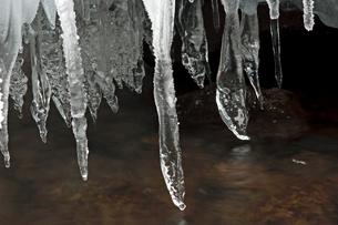 2月 氷瀑の世界 -南牧(みなみまき)村の湯川渓谷-の写真素材 [FYI04572711]