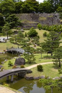 金沢城 玉泉院丸庭園の写真素材 [FYI04572876]