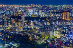 東京都港区 東京の夜景の写真素材 [FYI04574170]