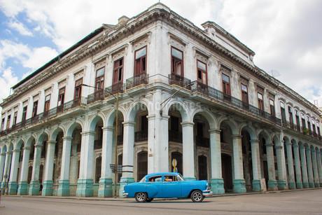 キューバの街並みの写真素材 [FYI04574456]