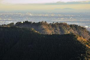 遠望 丹沢の大山より筑波山の写真素材 [FYI04576529]