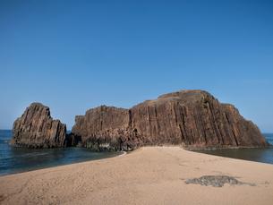 京都府京丹後市丹後町 立岩の写真素材 [FYI04576924]