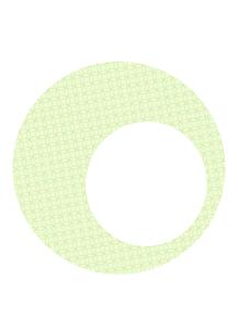 年賀状、結婚式などに使える和柄背景素材のイラスト素材 [FYI04577001]