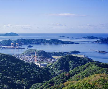 長崎県 風景 稲佐山より伊王島方面遠望 の写真素材 [FYI04577108]