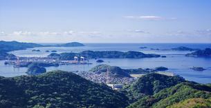 長崎県 風景 稲佐山より伊王島方面遠望 の写真素材 [FYI04577110]