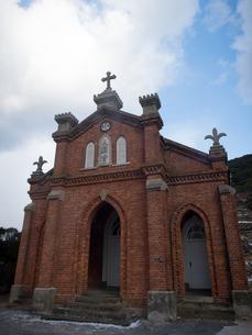 長崎県 小値賀町 旧野首教会の写真素材 [FYI04577404]