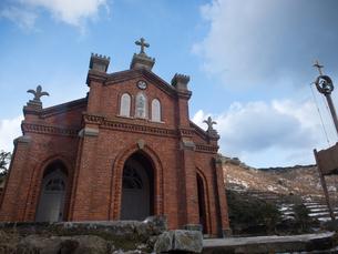 長崎県 小値賀町 旧野首教会の写真素材 [FYI04577405]