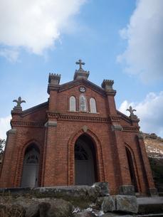 長崎県 小値賀町 旧野首教会の写真素材 [FYI04577406]