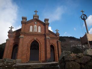 長崎県 小値賀町 旧野首教会の写真素材 [FYI04577407]