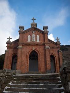 長崎県 小値賀町 旧野首教会の写真素材 [FYI04577408]