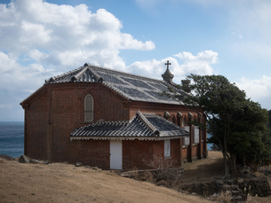 長崎県 小値賀町 旧野首教会の写真素材 [FYI04577513]