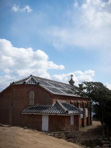 長崎県 小値賀町 旧野首教会の写真素材 [FYI04577515]
