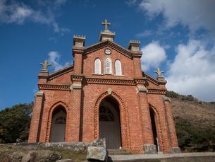 長崎県 小値賀町 旧野首教会の写真素材 [FYI04577521]