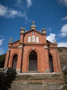 長崎県 小値賀町 旧野首教会の写真素材 [FYI04577522]